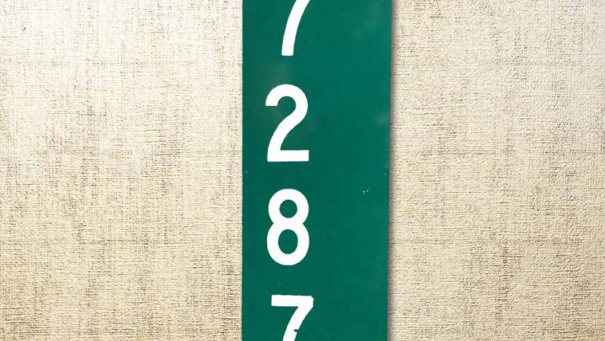 Need an address sign?