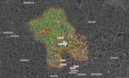 Willard Fire District Map