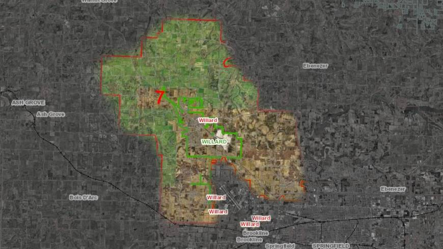 Willard Fire District Map